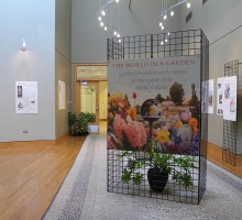 The World In A Garden on view at Fellows Riverside Gardens