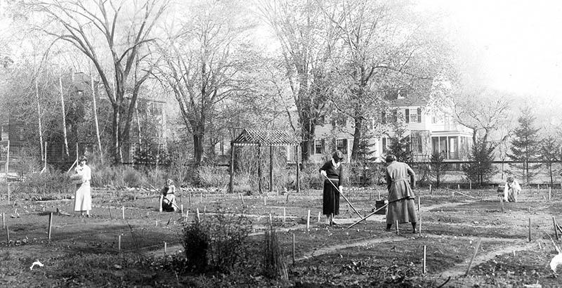 Home gardening class at Capen Garden