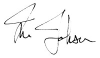 Tim Johnson signature