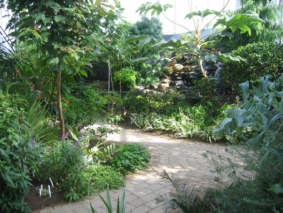 View of the Cool Temperate House