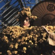 1963 Chrysanthemum Show, Photograph by William Campbell