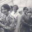 Hostesses at the Chrysanthemum Show, c. 1930-32 : Ann Marsh, Janet Gordon, Elisabeth Bull '30