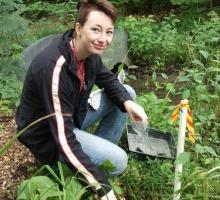 Botanic Garden Intern Torrin McCarthy '16