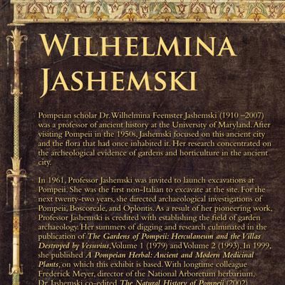 Wilhelmina Jashemski information