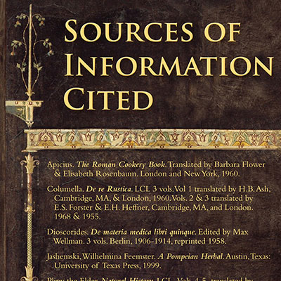 Sources of informationcited in the exhibit