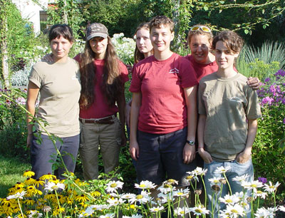 Botanic Garden Summer Interns 2006
