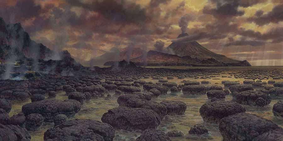 Mural 1 Age of Stromatolites