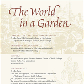 The World in a Garden credits panel