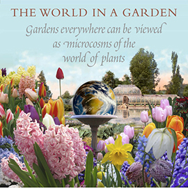 The World in a Garden title panel