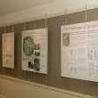 Exhibit information panels.