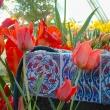 tulips and turkish tulip tiles