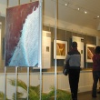 View of exhibit at opening reception.