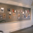 view of gallery with student projects