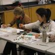 interterm students painting