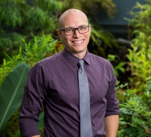 Botanic Garden Director Tim Johnson